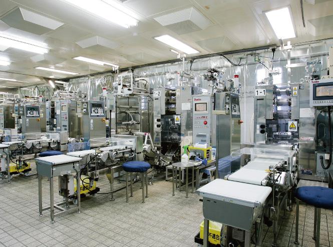 大東食研深谷工場内の写真